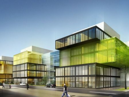 Immeuble de bureaux Sadena – Villeurbanne (69)